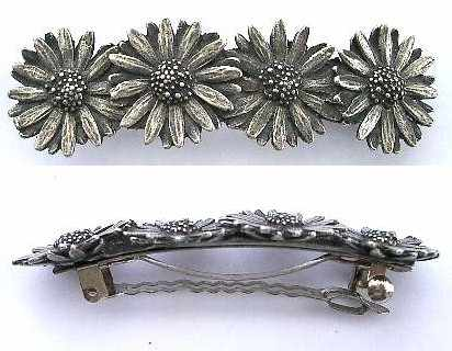 Provencal jewellery decorative pewter items by mail - Decorative hair slides ...